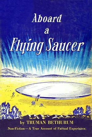 Aboard A Flying Saucer