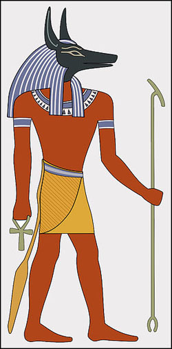Egyptian God Anubis connected to Canis Major