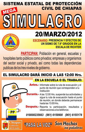 Mexico Earthquake Drill