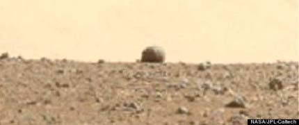 NASA Curiosity Rover August 22 2012