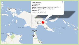 New Guinea Earthquake